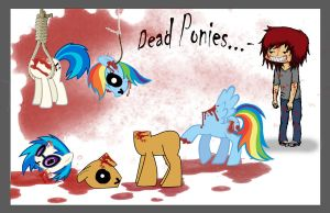 Dead Ponies.. :} by Fitchlitz