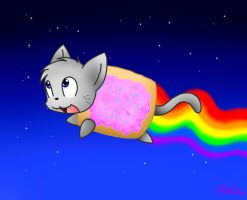 Nyan Cat by Spice5400