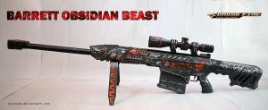CF Barrett Obsidian Beast Papercraft + DOWNLOAD by svanced