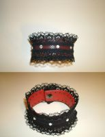 Leather N Lace Bracelet by JN-Leather