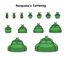 Rayquaza's fattening by Effra-Bulbizarre