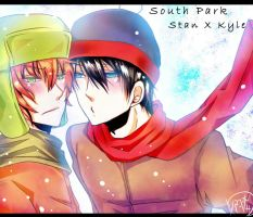 South Park- stan x kyle -2 by kyo52473