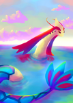 Milotic by celesmie