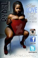 Rene Love and her 34J cups are in Rybel Magazine by djwarchild76