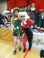 Harley and Ivy by Valkyrie-Ghost