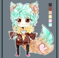 Fluffy Adoptable 1 - SOLD by Saviee