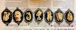 Horror Cameos Collection by TheLovelyBoutique