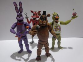 Five Nights at Freddys Crew by armoredringo115