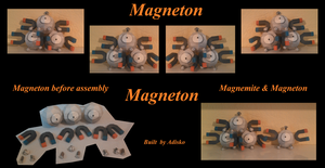 MAgneton Paper Pokemon by Adisko