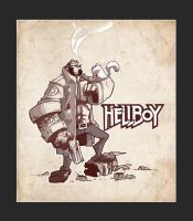 HELLBOY and KITTY by Shye6686