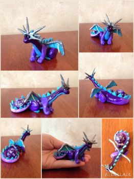 Dice Dragon Color Experiment by FlyTheFish