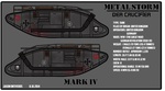 METAL STORM: Diesel punk Mark IV tank by fORCEMATION