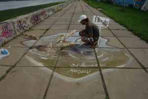 street painting by maksiov