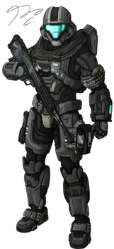 Commission - Spartan AURA115 by Guyver89
