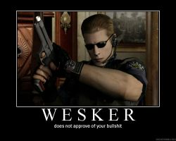 Motivational Wesker 2 by XxBloodyButterflyxX