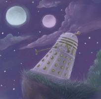 Night and Imperial Dalek by DalekJoy