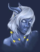 WoW Draenei by Jaybirdy