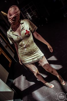 Silent Hill Nurse by DJMurasaki