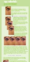 Eye Tutorial-Make Up + Swirls by Sugargrl14