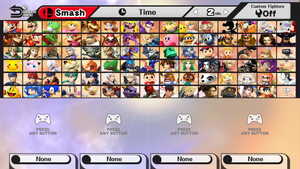 My Ideal Super Smash Brothers Roster by whosaskin