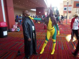 CTcon '12 - Nick Fury and Rogue 2 by TEi-Has-Pants