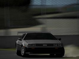 DeLorean DMC 12 Drift 2 by Street-Racer