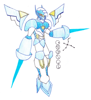 Cygnal, Toa of the Constellation Cygnus by Color17
