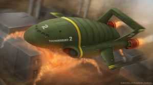 Thunderbird 2 by Mecha-Potato-Alex