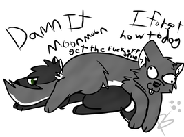 Damnit Moon Moon by Sly-Butts