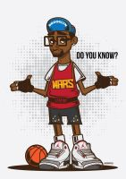 Mars Blackmon Vector by funky23