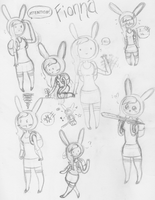 .:AT Fionna Sketch Dump:. by SonicBoom24