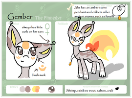 :Gember: finnedyr ref *UPDATED* by owls1999