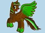 Me in pony form rainbowfied by barnowlgurl23