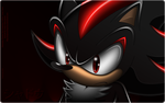 Dark hedgehog by Angrysonicgamer