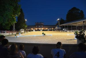 Riding Competition Background - Night Arena by LuDa-Stock