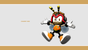 Sonic Channel Wallpaper 2011: Charmy by Lucas-da-Hedgehog