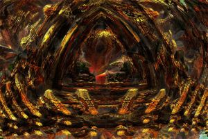 Entry to Vulcania's Organic Rocky Dome , v2 by PhotoComix2