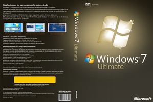 Windows 7 Ultimate Box spain by CaHilART