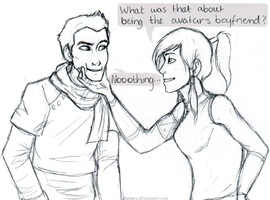 The Avatar's Boyfriend by Deesney