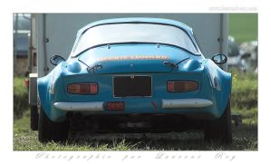 Alpine A110 by laurentroy