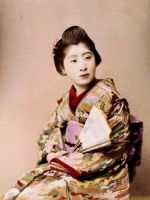 vintage japanese lady II by MementoMori-stock