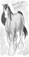 Horse a Day - Dec 04 by liliy