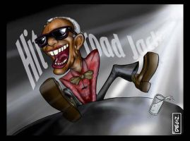 Ray Charles by DeGiz