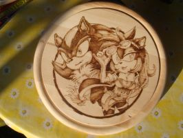Cuttingboard Shadow and Sugar by Sega-Club-Tikal