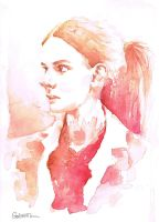 A Study in Watercolor - Molly Hooper by Gohush