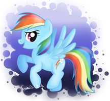 Rainbow Dash :') by scr3aam3r