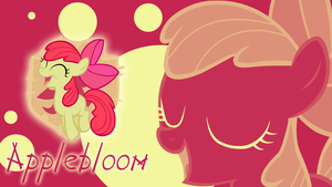 The Smartest one - Applebloom Wallpaper by cradet