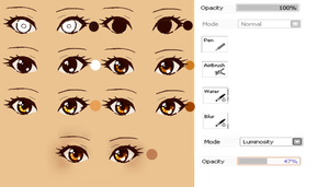 Manga Eye tutorial by XMajutsu-shiX