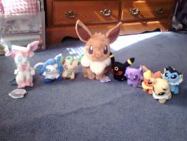 Eevee Collection by SkunkyRainbow270