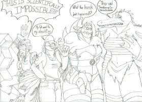 Mighty Mutanimals react to... GENDERSWAP!!! by mutantninjadragon